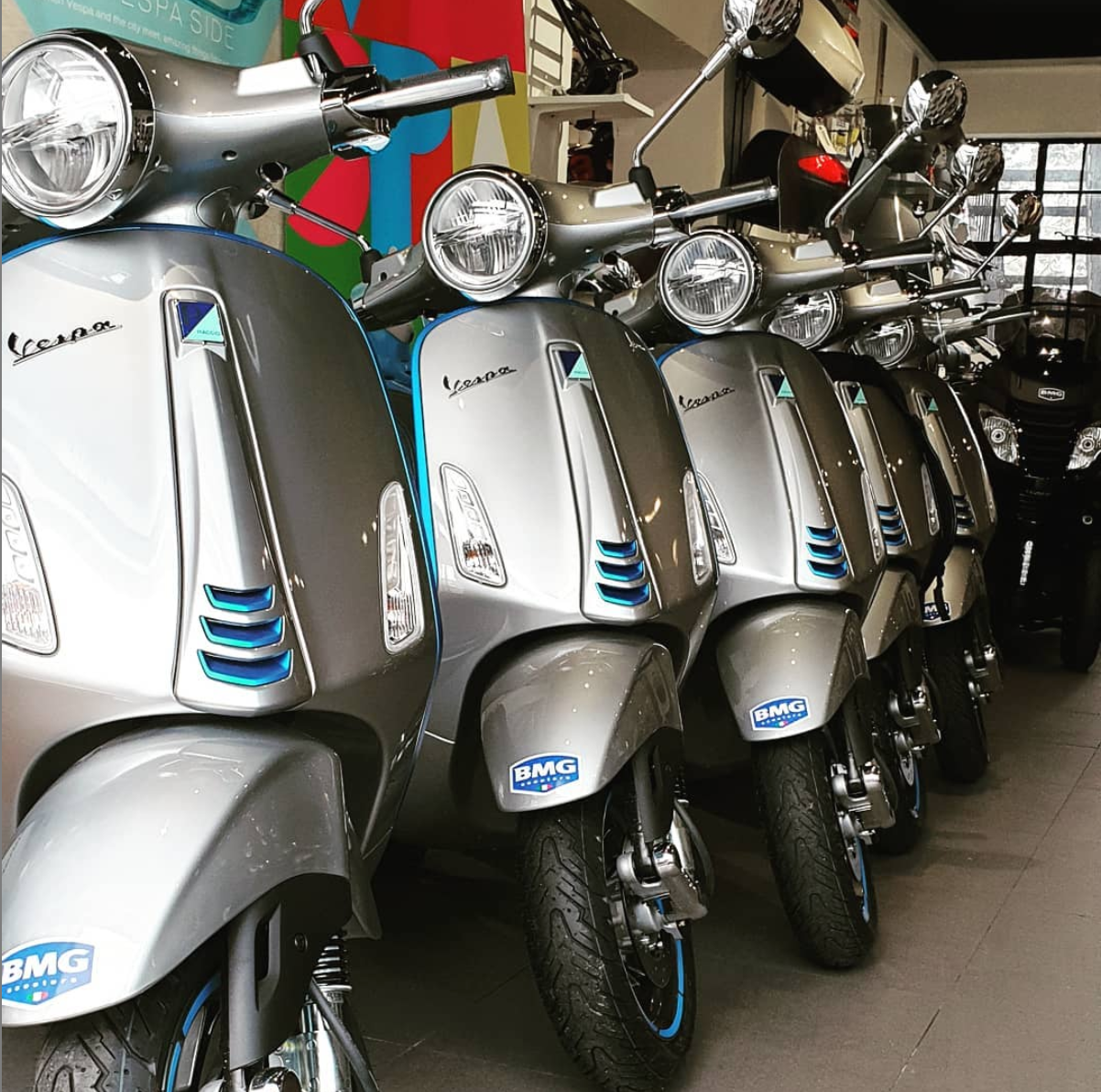 Bmg instagram scooters