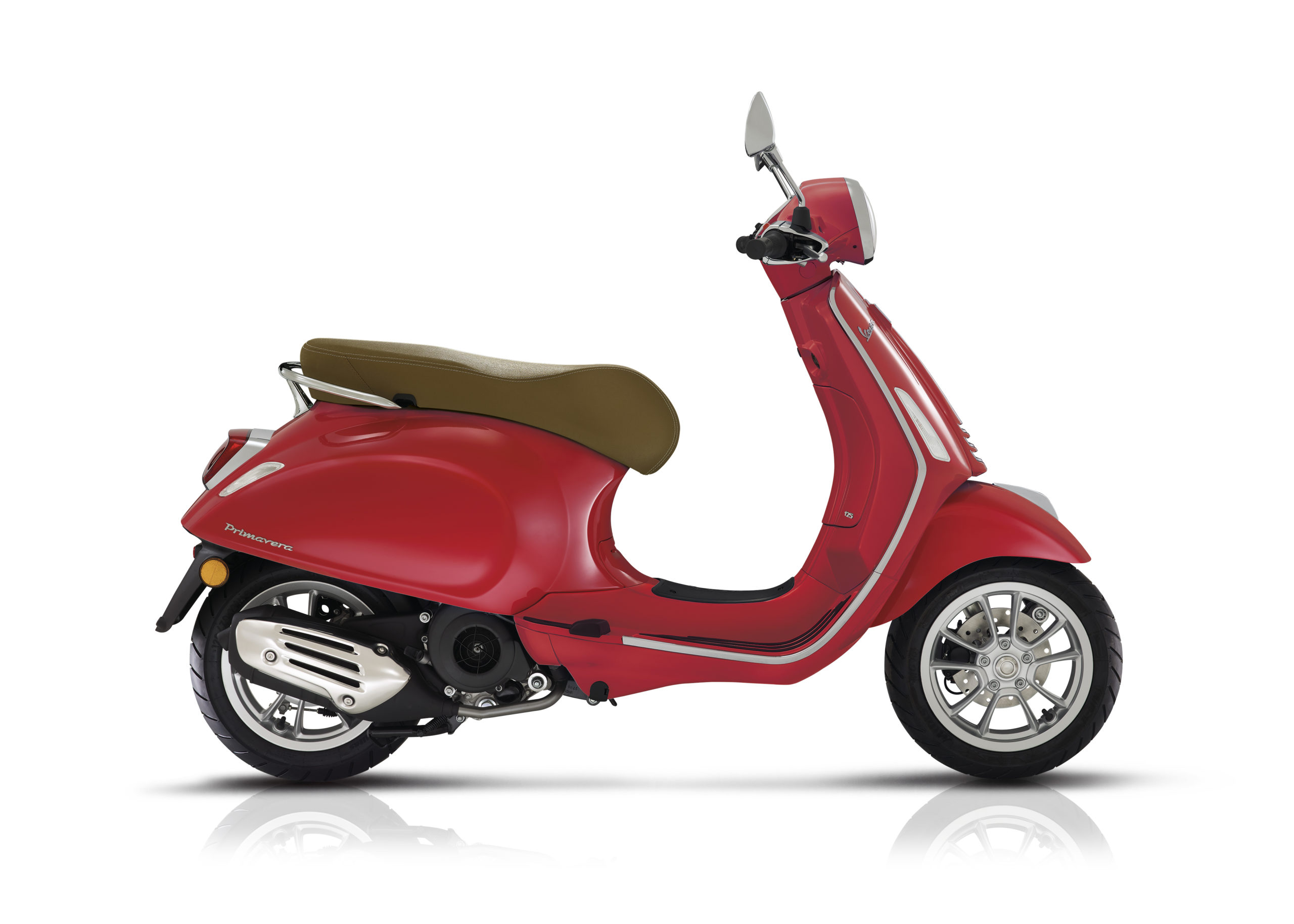 Vespa Primavera 125 red scaled
