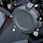990d0 04k20 crb gsx s1000 carbon fibre alternator cover