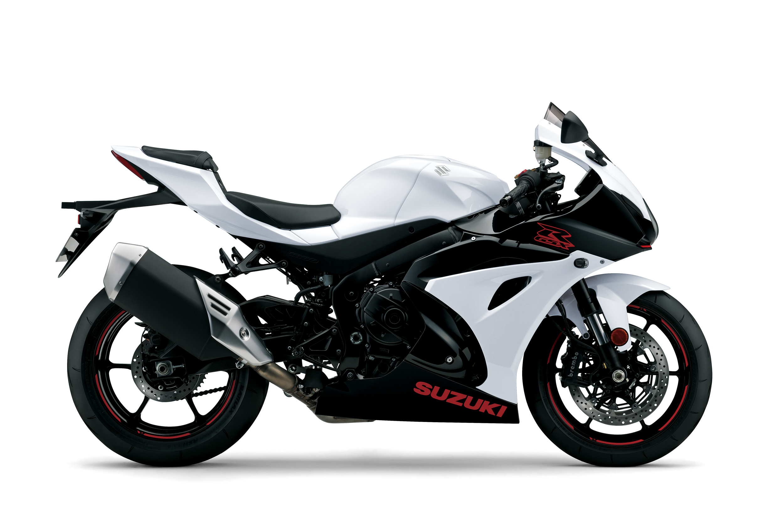 GSX R1000 White Right