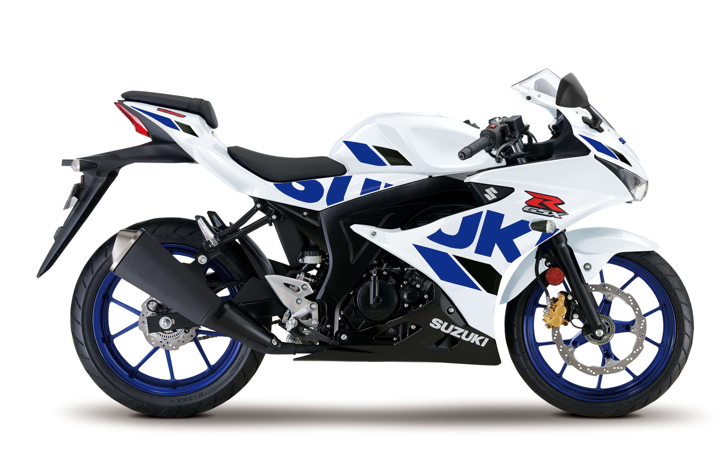 GSX R125 White Right