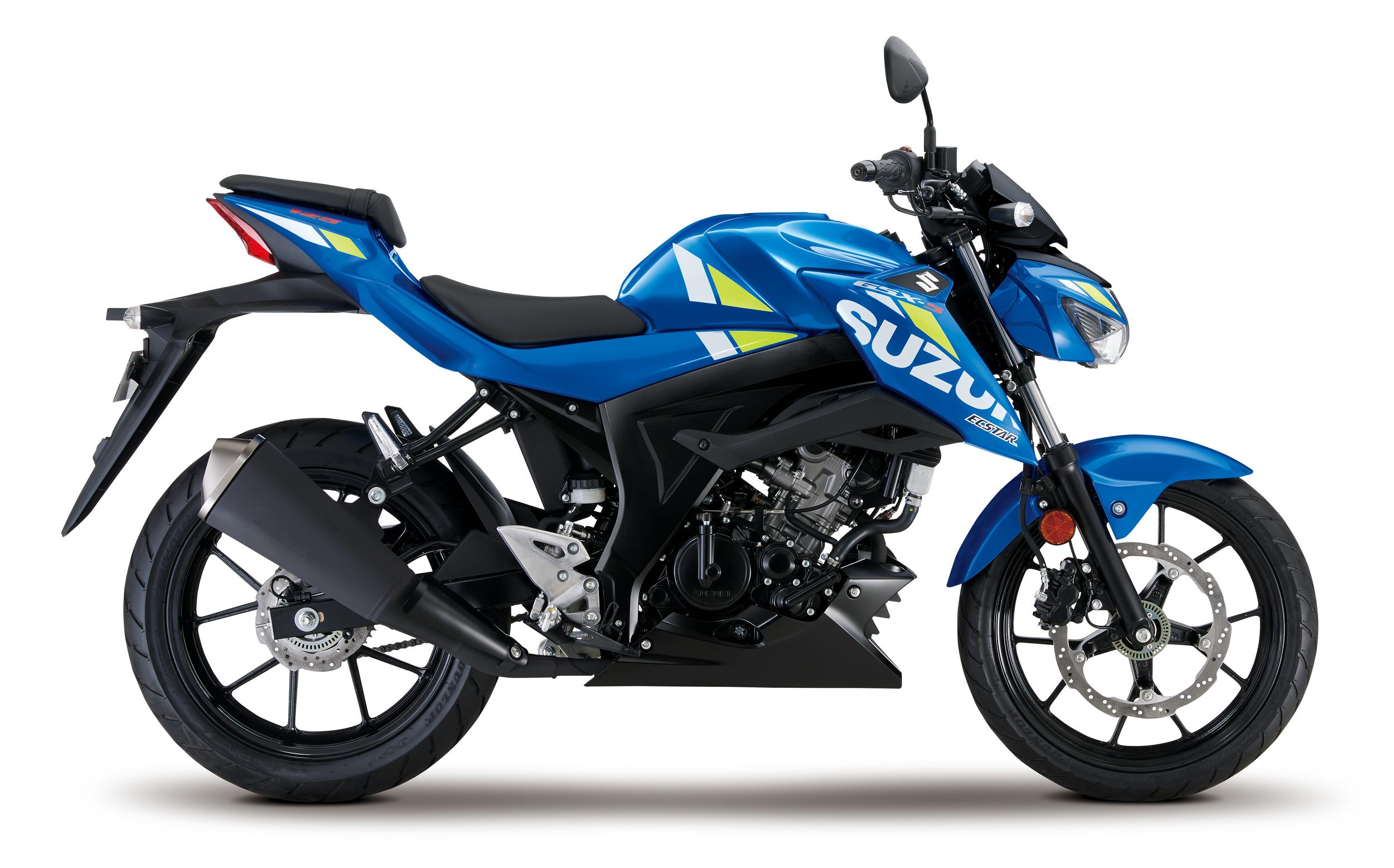 GSX S125 Blue Right