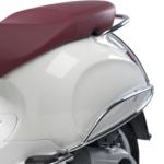 Rear chrome protection