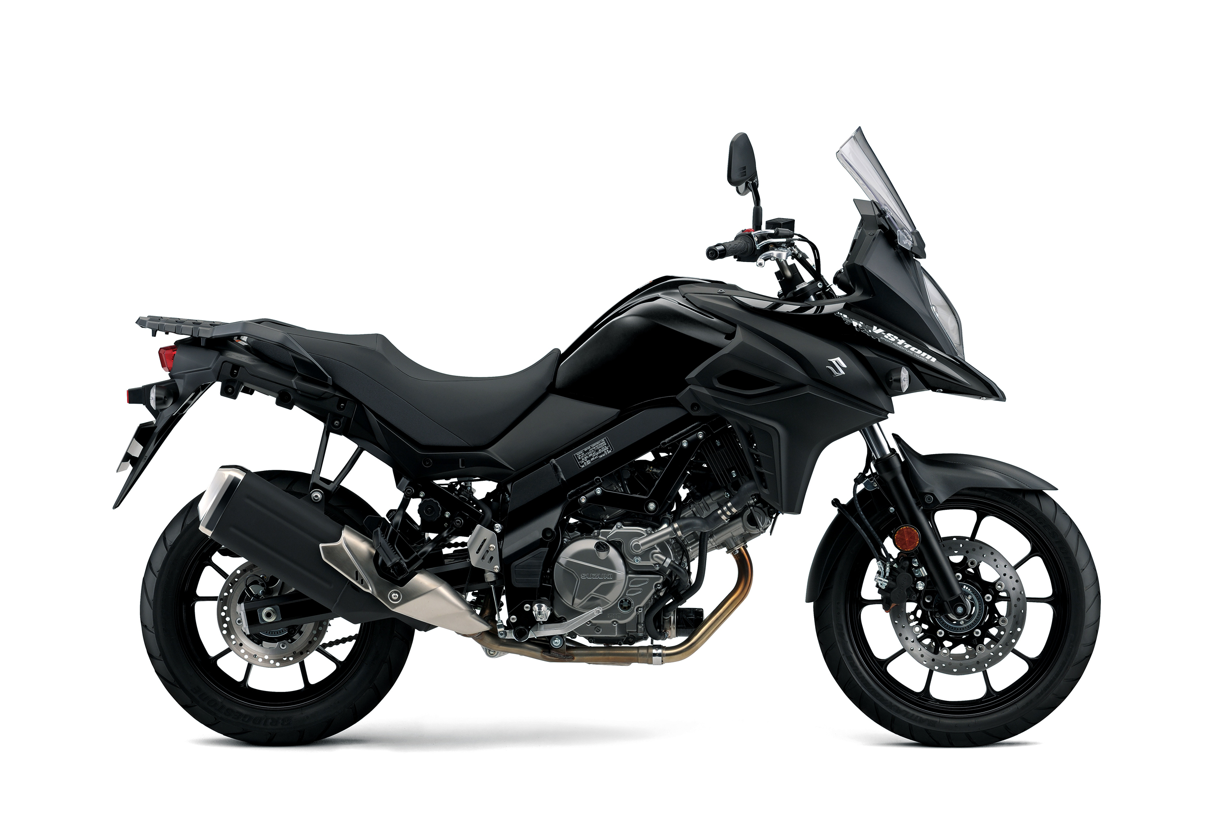 V Strom 650 Black Right