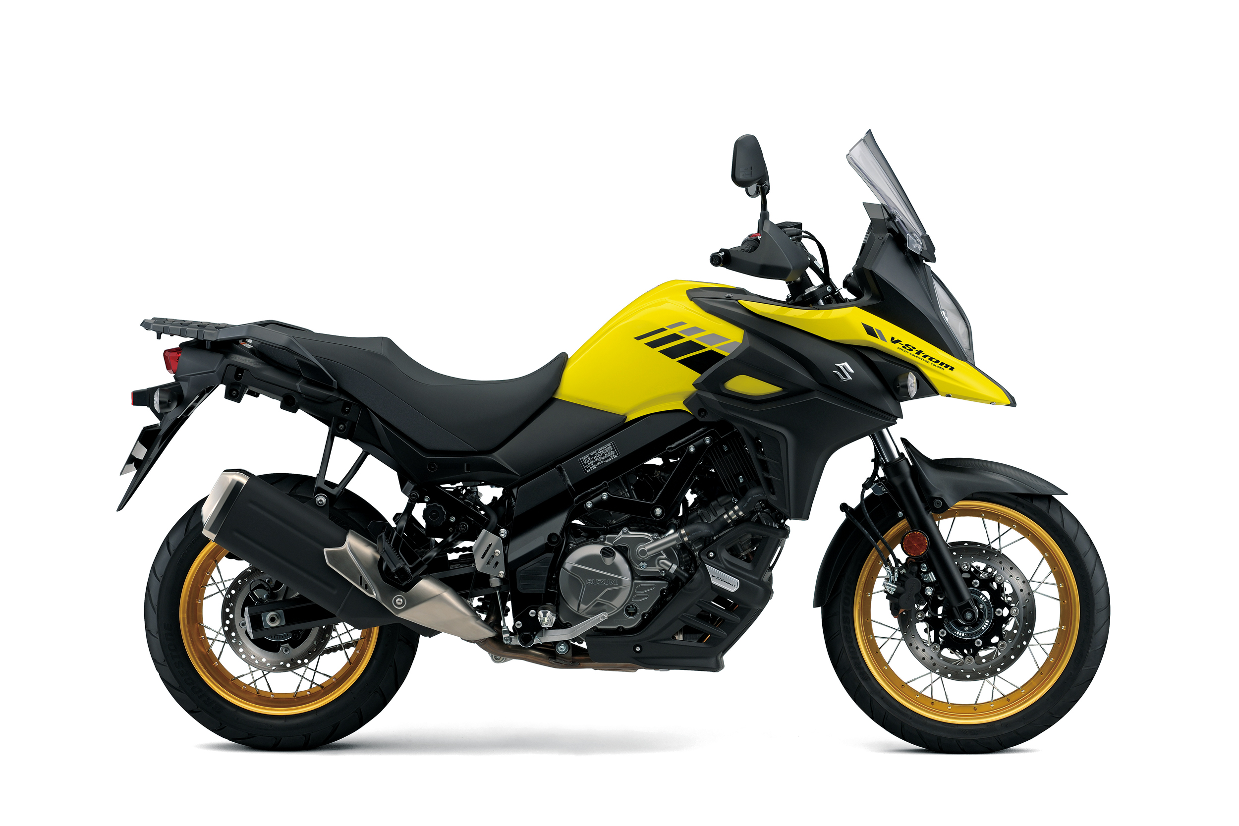 V Strom 650XT Yellow Right