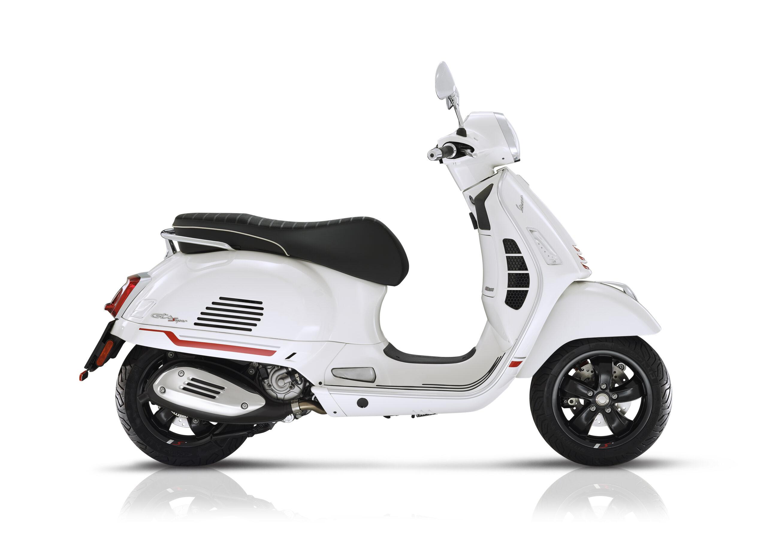 Vespa GTS S biancaLatDX bianco